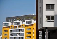 Construcción de viviendas moderna fotografía de archivo