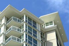 Construcción de viviendas moderna Foto de archivo libre de regalías