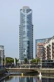 Construcción de viviendas moderna portsmouth inglaterra Fotografía de archivo libre de regalías