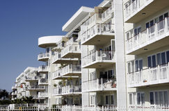 Construcción de viviendas urbana Foto de archivo libre de regalías