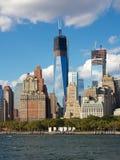 Construcción de WTC Fotografía de archivo libre de regalías