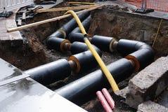 Construcción del abastecimiento de agua Fotografía de archivo libre de regalías