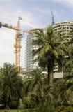 Construcción del alto edificio Fotos de archivo
