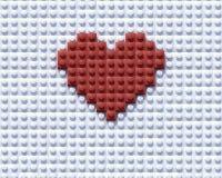 Construcción del amor stock de ilustración