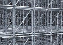Construcción del andamio que utiliza Imagen de archivo