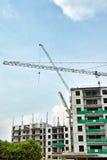 Construcción del apartamento en curso Fotografía de archivo libre de regalías