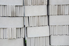 Construcción del bloque del ladrillo Fotos de archivo
