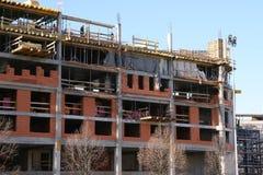 Construcción del centro comercial Foto de archivo