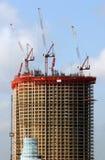 Construcción del condominio Foto de archivo