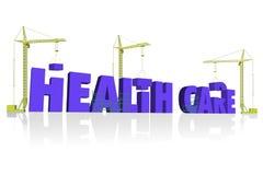 Construcción del cuidado médico Imagen de archivo libre de regalías