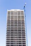 Construcción del edificio alto imagen de archivo