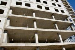 Construcción del edificio de oficinas Fotografía de archivo libre de regalías