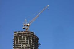 Construcción del edificio del rascacielos Foto de archivo libre de regalías