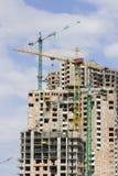 Construcción del edificio moderno Fotos de archivo