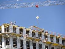 Construcción del Highrise Imagen de archivo
