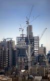 Construcción del horizonte de Londres Foto de archivo