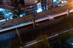 Construcción del metro en Noida Imagen de archivo libre de regalías