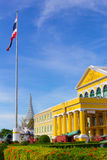 Construcción del Ministerio de Defensa tailandesa Fotos de archivo libres de regalías