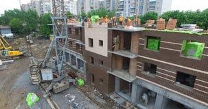 Construcción del nuevo edificio metrajes