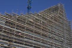 Construcción del nuevo edificio Imagenes de archivo