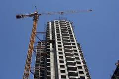 Construcción del nuevo edificio Imagen de archivo libre de regalías