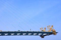 Construcción del puente Imagen de archivo