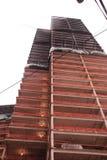 Construcción del rascacielos en Seattle Wa Imagen de archivo libre de regalías