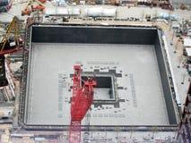 Construcción del sitio del World Trade Center - NYC Imagenes de archivo