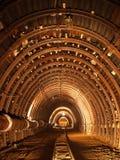 Construcción del túnel imagen de archivo libre de regalías