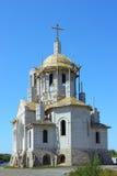 Construcción del templo Fotografía de archivo libre de regalías