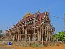 Construcción del templo Imagen de archivo libre de regalías