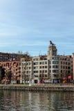 Construcción del tigre en Bilbao Imágenes de archivo libres de regalías
