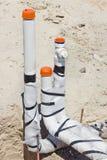 Construcción del tubo de agua Fotografía de archivo libre de regalías