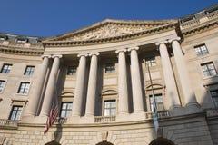 Construcción del Washington DC Fotos de archivo libres de regalías