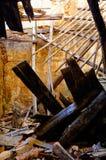 Construcción derrumbada Foto de archivo libre de regalías
