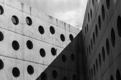 Construcción el biblioteca de investigación en la República Checa de Hradec Králové fotos de archivo libres de regalías