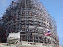 Construcción en Capitol Hill Foto de archivo