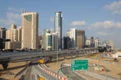 Construcción en Dubai Imagenes de archivo