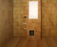 Construcción en el cuarto de baño foto de archivo libre de regalías