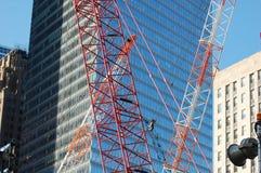 Construcción en el punto cero, New York City Fotografía de archivo libre de regalías
