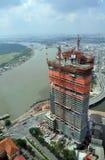 Construcción en Ho Chi Minh City, Saigon Vietnam Foto de archivo