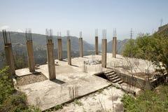 Construcción en Líbano Foto de archivo libre de regalías