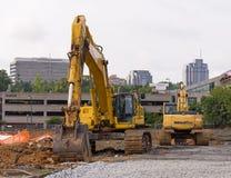 Construcción en la ciudad Fotos de archivo