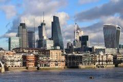 Construcción en la ciudad de Londres Foto de archivo