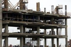 Construcción en la universidad de Chevy Chase Bank Byd Stadium del Md fotografía de archivo