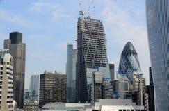 Construcción en Londres Imagenes de archivo