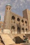 Construcción en Registan Fotografía de archivo