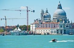 Construcción en Venecia Fotografía de archivo libre de regalías