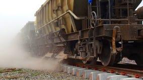 Construcción ferroviaria Fotografía de archivo libre de regalías
