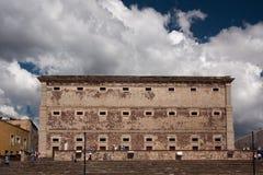 Construcción histórica de Alhondiga en Guanajuato Foto de archivo libre de regalías
